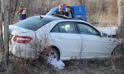 AK Parti konvoyunda kaza: 1 ölü, 2 yaralı!