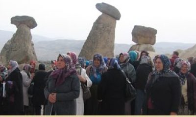 Yeşildereli Hanımlar Kapadokya'da