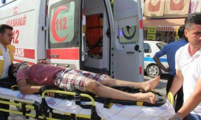 Karaman'da Otomobil Bisiklete Çarptı: 1 Yaralı