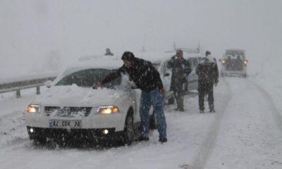 Ermenek'te Kar Yağışı