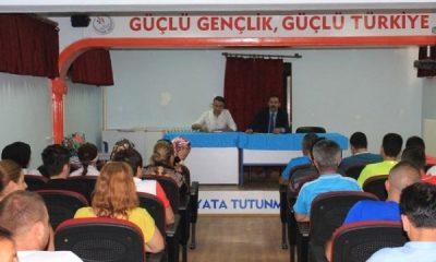 Karaman Gsim'de Ağustos Ayı Personel Toplantısı