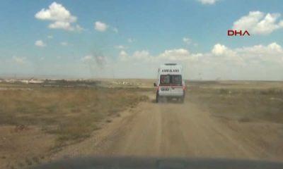 Karaman Kazada Hafif Yaralandı, Annesinin Israrına Rağmen Hastaneye Gitmeyi Kabul Etmedi