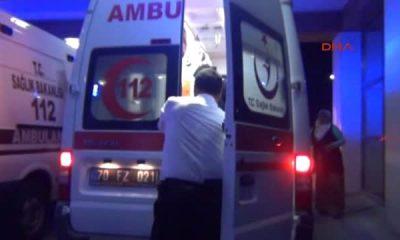 Karaman Üzerine Televizyon Devrilen Kızını Hastaneye Götürürken Kaza Yaptı : 4 Yaralı