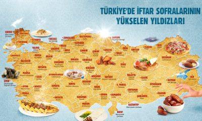 Yemeksepeti'nden Türkiye İftar Lezzetleri Haritası