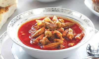 Karaman'da Bamya Çorbası Nasıl Yapılır