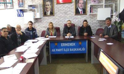 AK Parti Ermenek'te delegelerini seçti