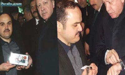 Cumhurbaşkanı Karamanlı Saatçiye Hediye Gönderdi