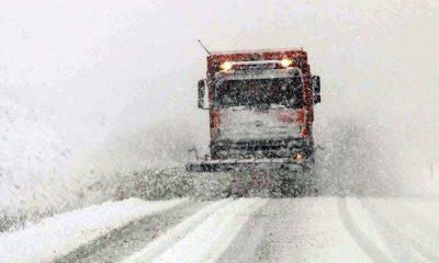 Karaman'da Kar Yolları Kapadı