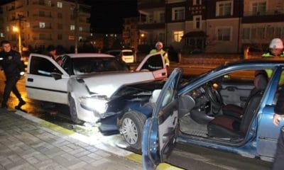 Karaman'da Kaza 1'i Bebek 6 Kişi Yaralandı.