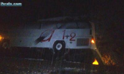 Konya'da Otobüs Devrildi! Yaralılar var…