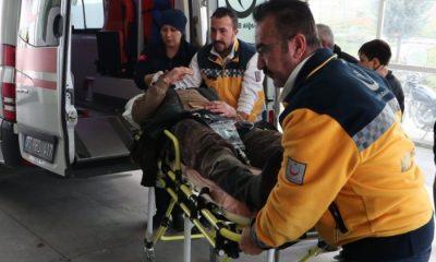 Karaman'da Trafik Kazası 5 Yaralı
