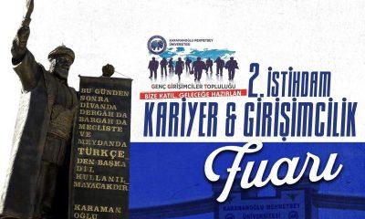 Karaman'da Kariyer ve Girişimcilik Fuarı