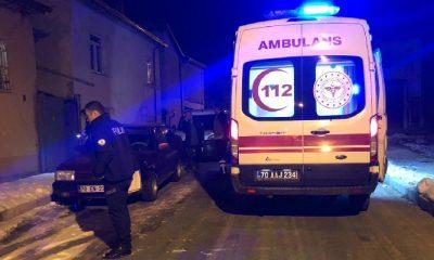Karaman'da Eve Pompalı Tüfekle Saldırı