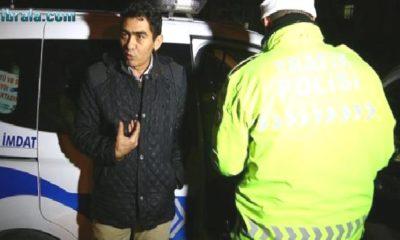 """Konya'da Alkollü Yakalanan Sürücüden """"umreye gittim"""" savunması"""