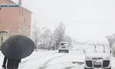 Meteorolojiden Karaman  için kuvvetli kar uyarısı