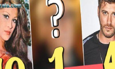 Türkiye'nin En Popüler 15 Ünlü İsmi Sıralamasını Görmelisin