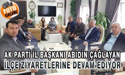 AK Parti İl Başkanı ve Yönetimi Ayrancı İlçesinde