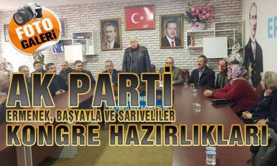 AK Parti Karaman İlçelerinde Kongre Hazırlıklarını Sürdürüyor