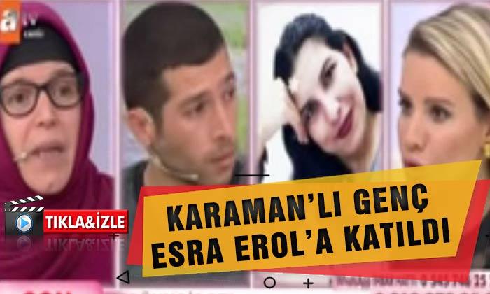Karaman'lı Genç Esra EROL'DA Video