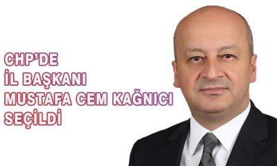 CHP İl Başkanlığına Mustafa Cem KAĞNICI seçildi