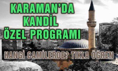 Karaman'da Kandil Özel Programı