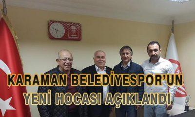 Karaman Belediyespor'un Yeni Hocası Açıklandı