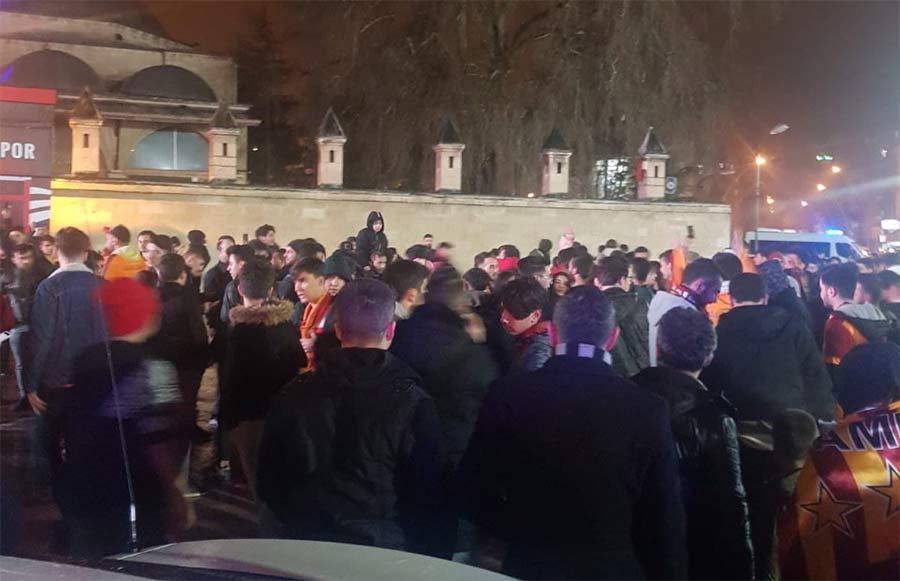 Karaman Galatasaray Kutlama
