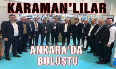Karaman'lılar Ankara'da Buluştu
