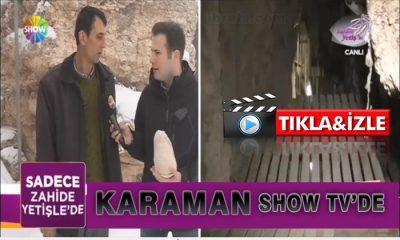 Karaman SHOW Tv'de Tanıtıldı VİDEO