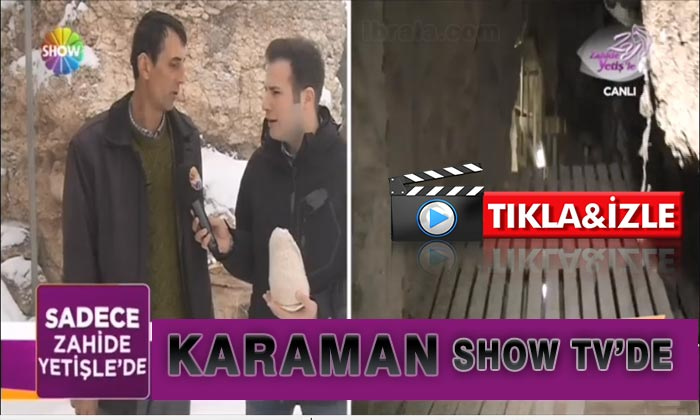 Karaman SHOW Tv'de