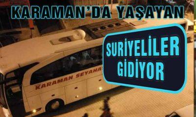 Mülteciler Karaman'ı Terk Ediyorlar!