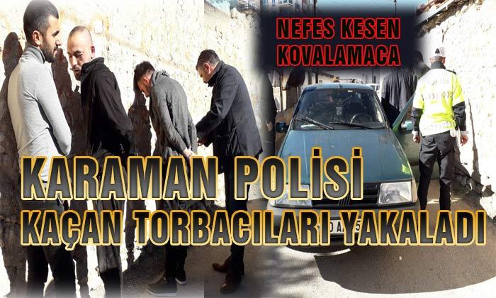 Karaman Polisinden Nefes Kesen Operasyon