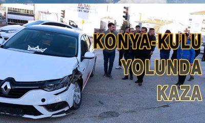 Konya-Kulu Yolunda Kaza