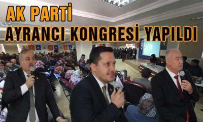 AK Parti Ayrancı Kongresi Yapıldı