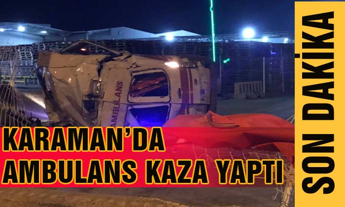 AMBULANS KAZA