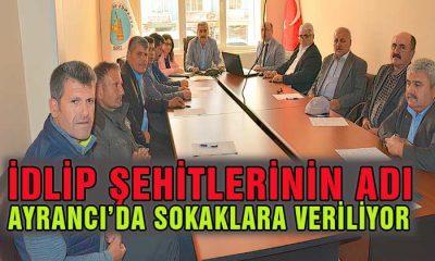 İdlip Şehitlerimizin Adı Karaman'da Yaşatılcak