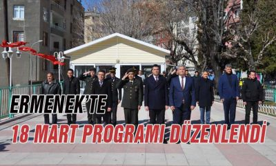Ermenek'te 18 Mart Programı Düzenlendi