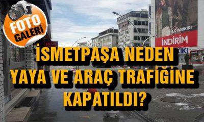 İsmtepaşa Caddesi Yaya ve Araç Trafiğine Kapatıldı