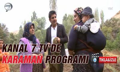 Karaman Kanal 7 Televizyonunda Tıkla İzle