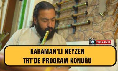 Karamanlı Neyzen TRT'de Program Konuğu