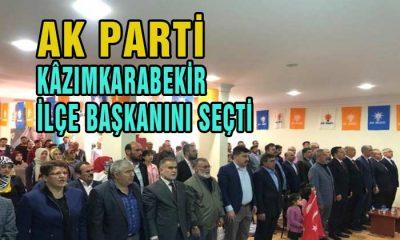 AK Parti Kazımkarabekir İlçe Başkanını Seçti