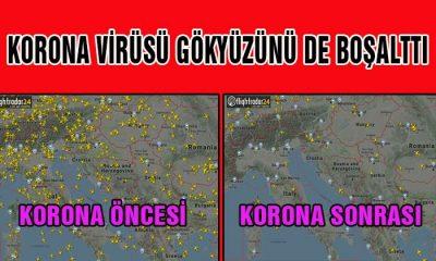 Korona Virüsü Gökyüzünü Boşalttı!