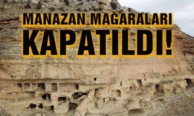 Manazan ve İncesu Mağaraları Kapatıldı!