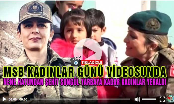 Milli Savunma Bakanlığından Anlamlı ve Duygusal Video