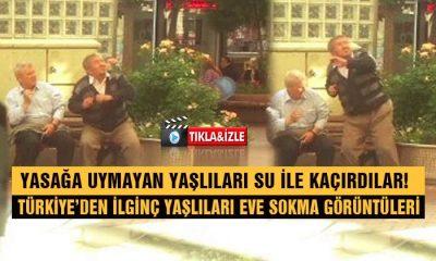 Yaşlıları SU İle Kaçırdılar! Türkiye'den İlginç Görüntüler