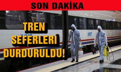 SON DAKİKA Tren Seferleri Durduruldu! Detaylar için Tıkla