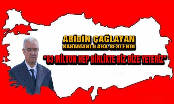 AK Parti İl Başkanı Karamanlılara Seslendi
