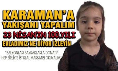 Karaman'a Yakışanı Yapalım Lütfen Evladımızı İzleyin