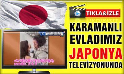 Karamanlı Evladımız Japonya Televizyonunda