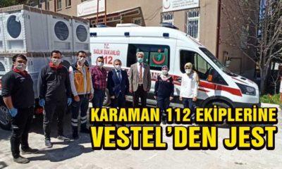 Karaman 112 Servisine Vestel'den Jest